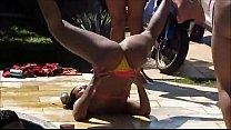 Festa na piscina com brasileiras safadas em rio de janeiro