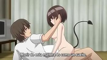 Hentai anime de sexo com a garota fofinha e inocente fudendo