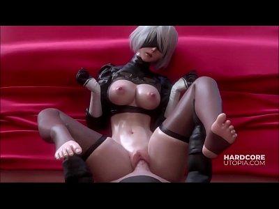 Hentai travesti fazendo suruba com as duas garotas