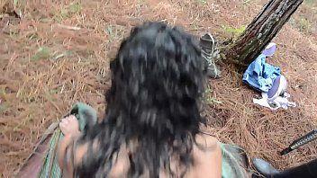 Mulheres selvagens fazendo sexo com escravo