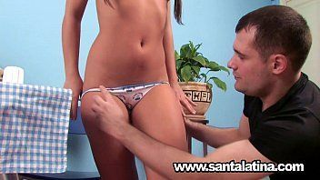 Furacao porno morena peituda fazendo belo boquete e sexo anal