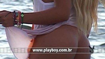 Porno brasil Babi Rossi gravando vídeo mostrando buceta pra câmera